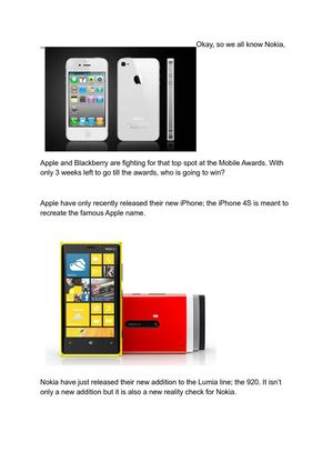 Apple iPhone 4s Vs Nokia Lumia 920 Vs Blackberry Torch 9860 Review