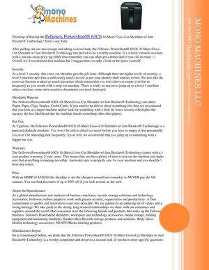 Fellowes Powershred 63Cb 10-Sheet Cross-Cut Paper and Credit Card Shredder