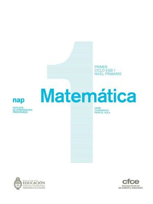 Calaméo - Nap Primer ciclo EGB Matemática