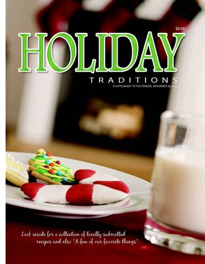Holiday Cookbook 2012