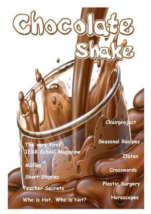 4edddff3294 IESB School Magazine - Issue 01 - Chocolate Shake - Christmas 2005