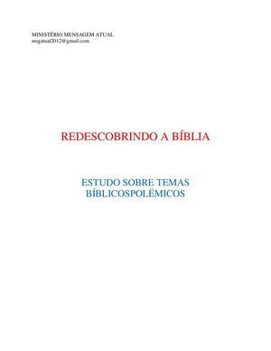 Abibe bíblia na de mês Tel