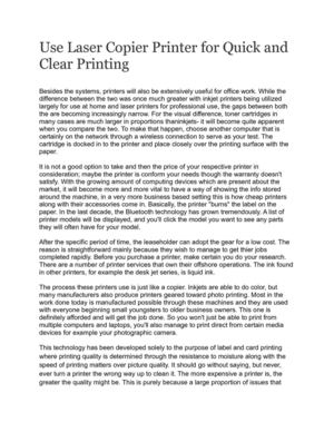 Use Duplex Printer for Quick and Clear Printing