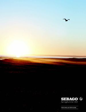 Sebago WEL Buyers Guide SS2013 flipped version