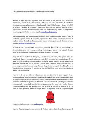 Moncler Mochilas Frontera popular