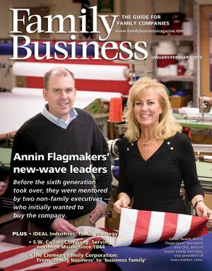 Family Business Magazine—January/February 2013
