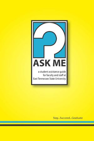 ETSU Ask Me Booklet