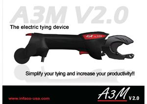 Brochure Electric tying device AV3M v2 Infaco - USA AN