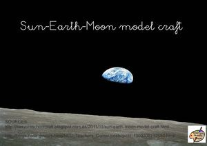 Earth-Moon-Sun model craft