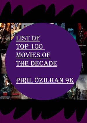 Top Movies of the Decade