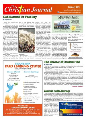 The Christian Journal January Edition 2013