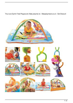 Tiny Love Gymini Total Playground Discount !!