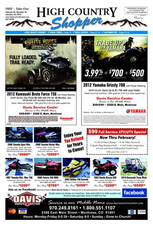 High Country Shopper 1.23.13