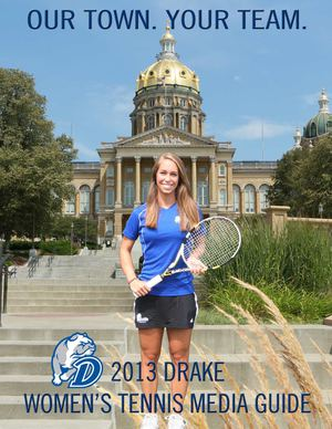 2013 Drake Women's Tennis Media Guide