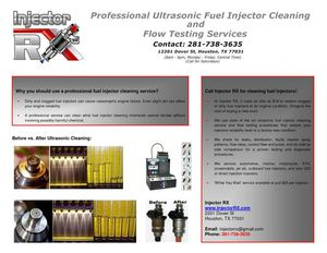 Cleaning Fuel Injectors