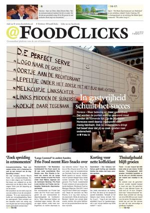 FoodClicks magazine januari 2013