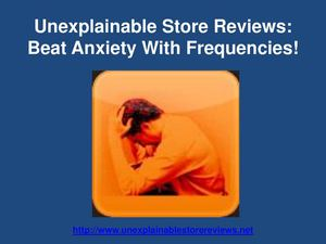 The Brainwave Entrainment Reviews:beat anxiety disorder