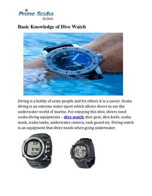 Dive Watch