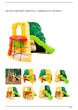 Little Tikes Jungle Climber Big Discount