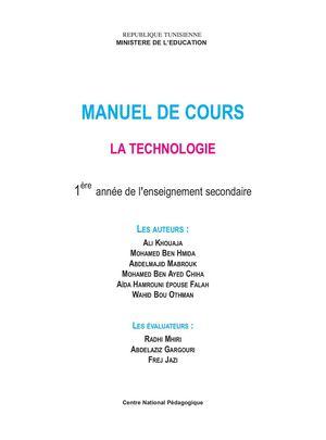 Calameo Manuel De Cours 1ere