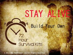 Build Your Own 72 Hour Survival Kits