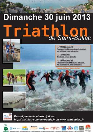 triathlon saint suliac 2013