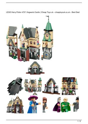 LEGO Harry Potter 4757: Hogwarts Castle Big Discount