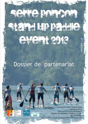 Serre Stand UP Paddle Event 2013, 6 et 7 juillet
