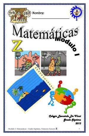 Calaméo - MATEMÁTICAS MODULO 1