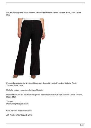f1c27c643f0 Calaméo - Not Your Daughter s Jeans Women s Plus Size Michelle Denim ...