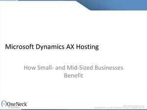 Microsoft Dynamics Hosting: How Small- and Mid-Sized Businesses Benefit