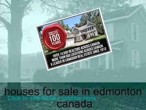 houses for sale in edmonton canada