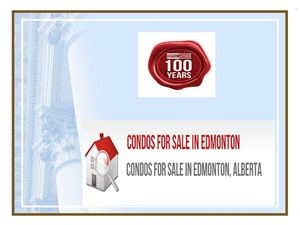 Condos for sale in Edmonton