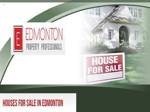 Houses for sale in edmonton