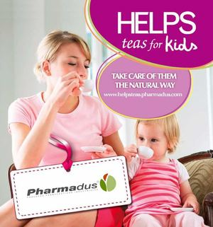 Helps teas for Kids natural herbal supplements quality Pharmadus