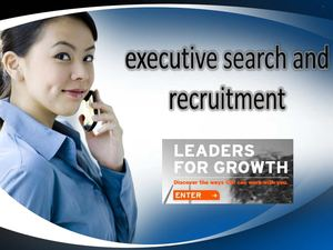 executive search and recruitment