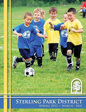 Sterling Park District Spring 2013 Program Guide