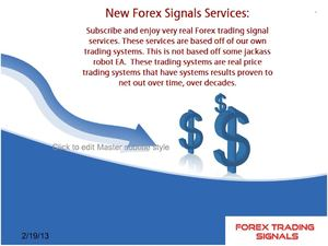 What are the Forex signals