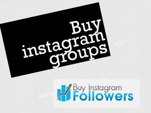 Buy instagram groups