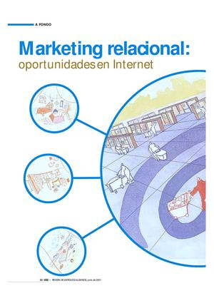 Marketing, Relacional oportunidades en internet.