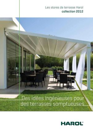 calam o harol stores de terrasse. Black Bedroom Furniture Sets. Home Design Ideas