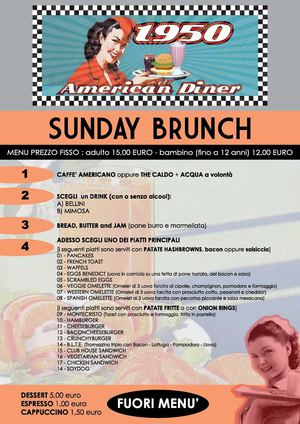 Calaméo - 1950 american diner - menu brunch domenica