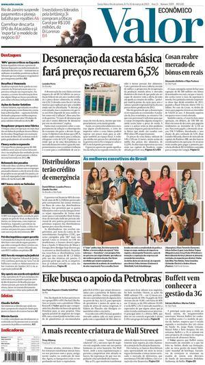 ec64355328 Calaméo - Valor Econômico 08-03-2013