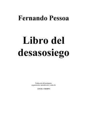 Calaméo - Fernando Pessoa: El libro del desasosiego