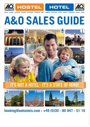 A&O Sales Guide 2013 - International
