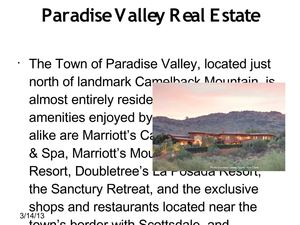 Paradise Valley Real Estate USA for sale