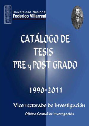 Calamo Catlogo De Tesis 1990 2011