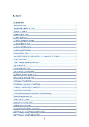 Calaméo - Manual Excel - Hoja de calculo - Aitor