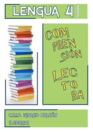 COMPRENSION LECTORA 4º