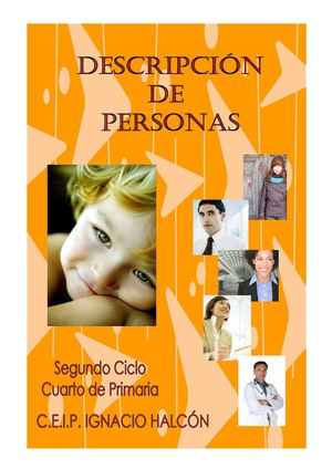 DESCRIPCION PERSONAS 4º